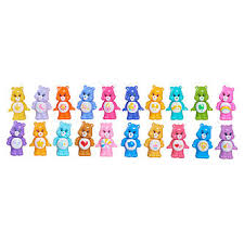 care bears squishems figures 8 pack