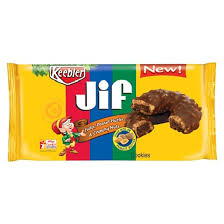keebler jif fudge peanut butter and crunchy nuts cookies 8 5oz