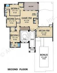 stoney brook luxury floor plan residential house plans