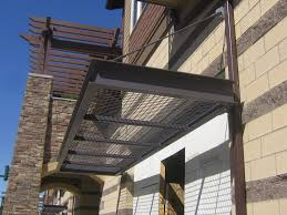 Industrial Awnings Canopies Nuimage Specializes In Custom Metal Work In House Mill Paint Or