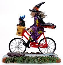 jeep comanche bike toys and stuff lemax set 32109 2013 witch riding bike