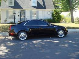 cadillac cts 20 inch wheels blackcts08 2008 cadillac cts specs photos modification info at