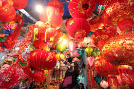 New Year Decorations Buy by Tết Lunar New Years Celebrations Vietnam Cambodia