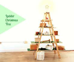 christmas wooden tree christmas lights decoration