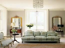 classic living room furnished with french style furniture and