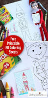 elf on the shelf coloring pages for kids elf on the shelf free printable coloring sheets