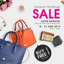 designer handbags on sale 18 21 aug 2016 wearhouz designer handbags sale aeon