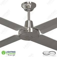 marine grade stainless steel outdoor ceiling fans silver blades typhoon 52 316 stainless steel ceiling fan w moulded