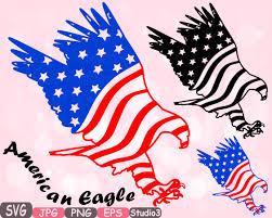 Eagle American Flag American Flag Svg Eagle Usa Eagles File Independence Day 4th