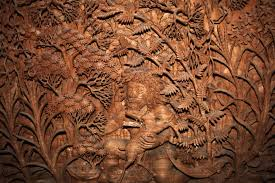 amidst the dying art of wood carving meet the wood carver who