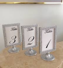 silver bling pedestal display photo frames by dreamonbridal idolza