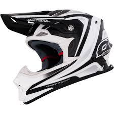 white motocross helmet oneal 8 series race mx lightweight fiberglass enduro off road