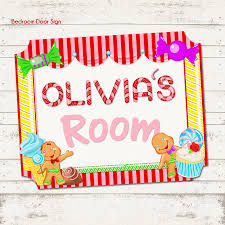 candy land themed children s bedroom door sign candy zoom