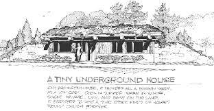 underground tiny house a tiny underground house plans natural building blog