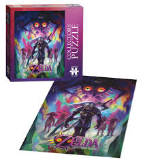 usaopoly the legend of zelda majora u0027s mask incarnation puzzle 550
