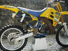 evo motocross bikes why did factory teams use aluminum tanks back in the day old
