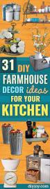 Ideas For The Kitchen 31 Diy Farmhouse Decor Ideas For Your Kitchen Diy Joy