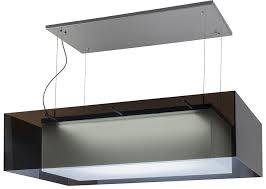 chrome kitchen island meyda 157722 quadrato shadow box modern chrome led
