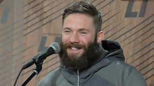 edelman haircut julian edelman likes look of beardlicious patriots ahead of