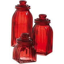 cypress glass 3 piece kitchen canister set u0026 reviews wayfair