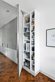 an ikea pax and komplement closet system with custom doors hide