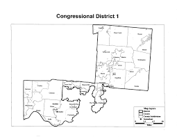 Ohio Senate District Map by Ohio Congressional Redistricting Gerrymandering