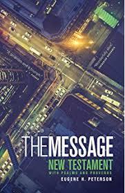 message bible contemporary language eugene