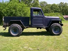 homemade truck 1950 willys truck rebuild