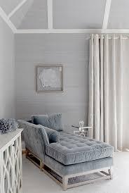 Velvet Chaise Lounge Blue Velvet Chaise Lounge Cottage Living Room Mabley Handler