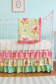 Aqua And Pink Crib Bedding by 155 Best Nursery Images On Pinterest Nursery Ideas Babies