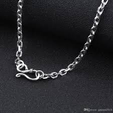 silver necklace women images 2018 925 sterling silver chain men necklace men jewelry 100 pure jpg