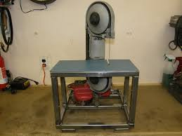 Bench Mounted Band Saw - homemade portable bandsaw conversion rod forum hotrodders