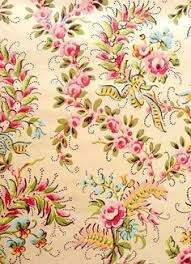 what is floral pattern in french french wallpaper 1925 i wouldn t have this on a wall but i
