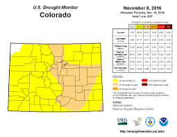 Map Of Colorado State by All Of Colorado Experiencing Abnormally Dry Conditions Some In