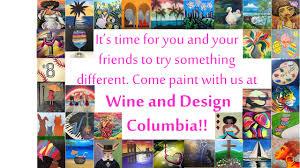 wine u0026 design columbia sc paint u0026 sip wine u0026 paint parties