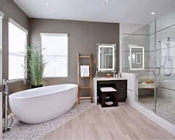 Modern White Bathroom Ideas Bathroom Modern White Oval Acrylic Bathtub In Minimalist