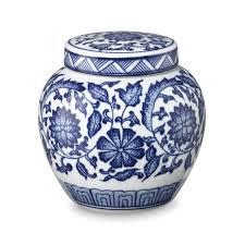Blue And White Vase Decorative Vases U0026 Jars Williams Sonoma
