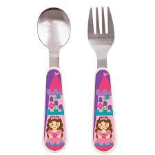amazon com stephen joseph silverware set transportation baby
