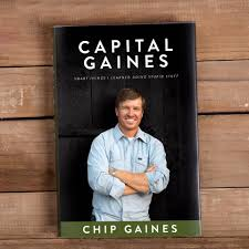 chip gaines on fame and why he chose his new book cover