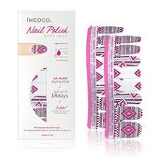 incoco nail polish strips valentines day collection hearts