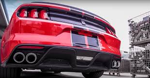 mustang exhaust 2016 mustang shelby gt350 custom exhaust comes from