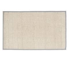 Pottery Barn Jute Rugs Chenille Jute Solid Border Rug Gray Pottery Barn Kids
