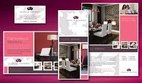 interior brochure design interior designer brochure template
