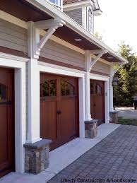 3 Car Garage Ideas Rustic 3 Car Garage With Half Rounded Windows Above The Average