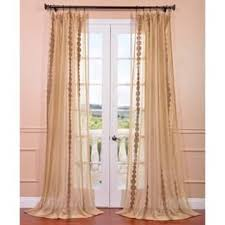 Black Ivory Curtains Sheer Curtains Shop The Best Deals For Nov 2017 Overstock Com