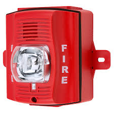 wall mount strobe light 2 wire horn strobe outdoor wall mount red