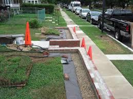 waterproofing of garden retaining wall with stucco masonry