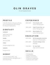 Social Work Resume Template Photography Resume Template Expressive Arts Photography Resume