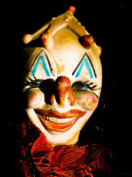 creepy clown alert my cochrane now
