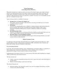 download nevada living will form u2013 advance directive pdf